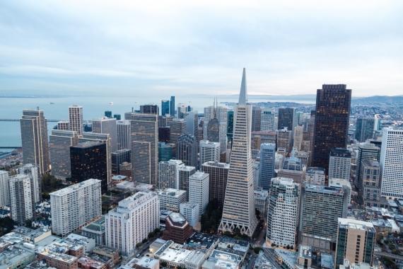 A Modern City scene.
